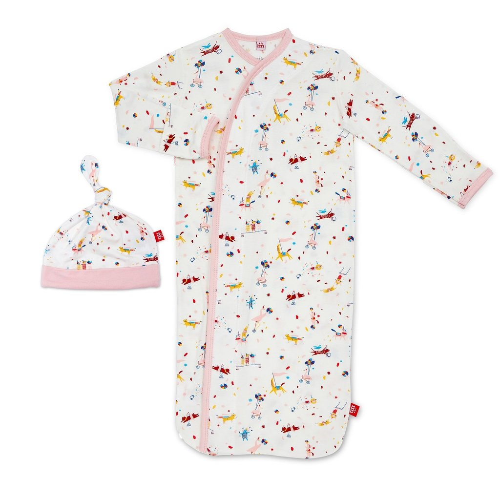 Magnetic Me Magnetic Me Baby Magnetic Sack Gown Set - Size: NB-3 Months