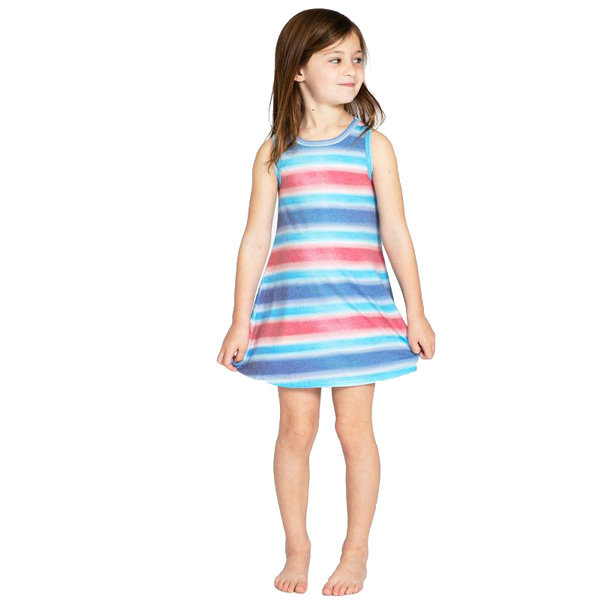 Sol Angeles Stray Stripe Flounce Dress