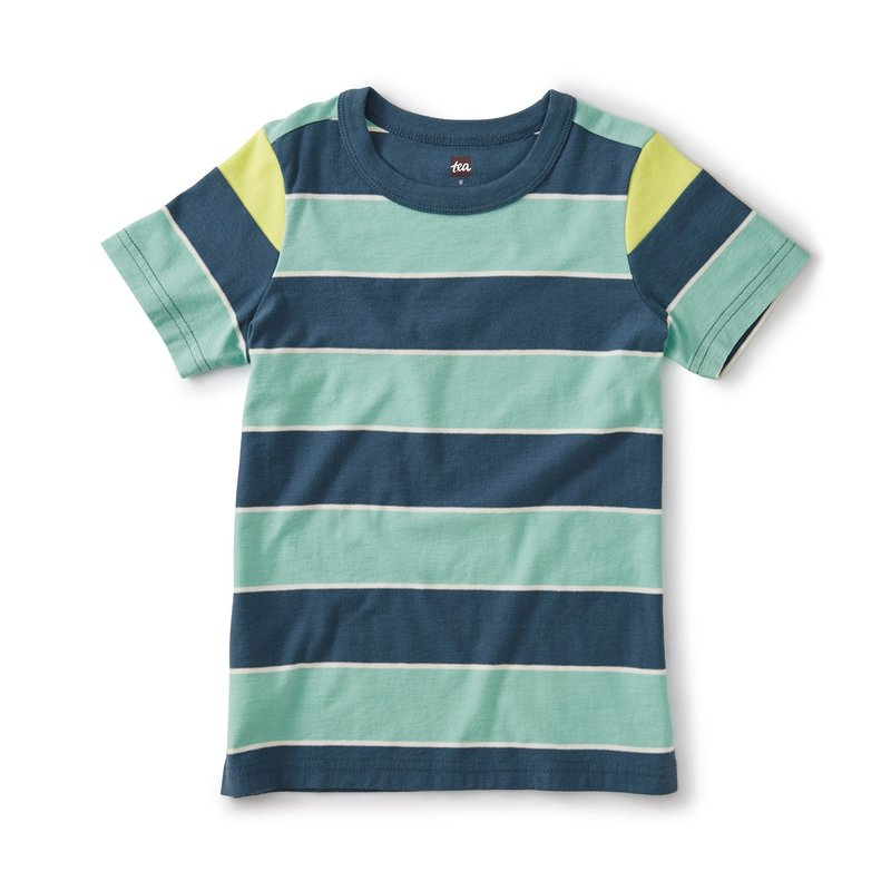 Tea Collection Tea Boys Striped Tee