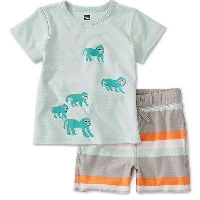 Tea Collection Tea Baby Boys Set