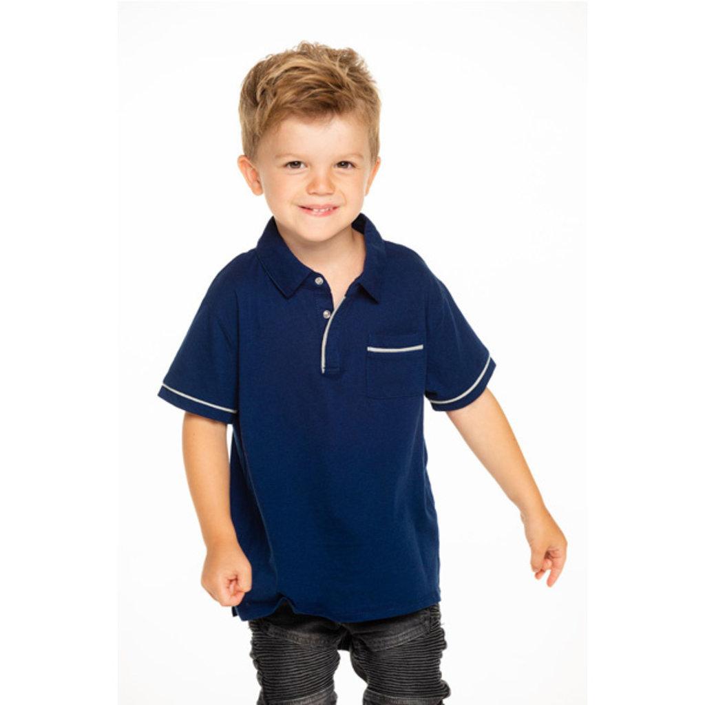 Chaser Kids Chaser Kids Boys Short Sleeve Pocket Polo