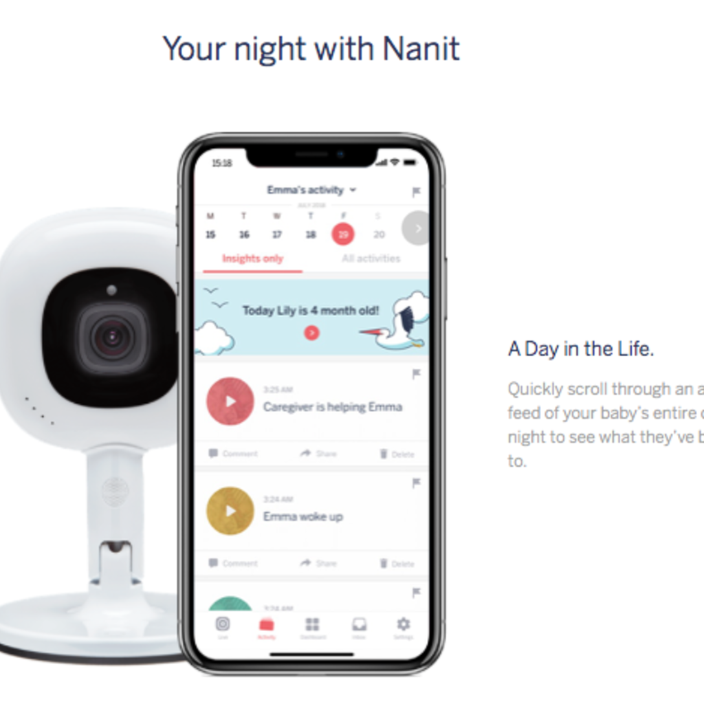 Nanit Nanit Plus Camera & Wall Mount