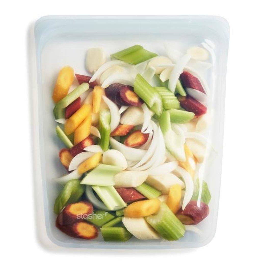Stasher Bags Stasher Half Gallon Sized Food Storage Reusable Bags