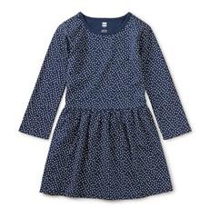 Tea Collection Tea Collection Girls Skirted Staple Dress