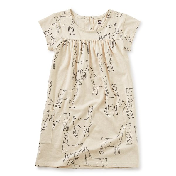 Tea Collection Tea Collection Girls Pocket Dress