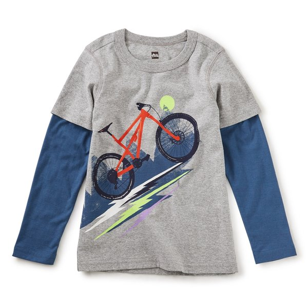 Tea Collection Tea Collection Boys Heavy Pedal Layered Tee