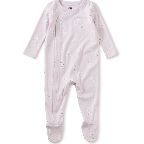 Tea Collection Tea Collection Baby Girl Footed Romper