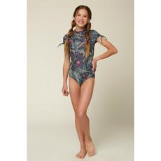 O'Neill O'Neill Girls Sandrine Short Sleeve Surf Suit
