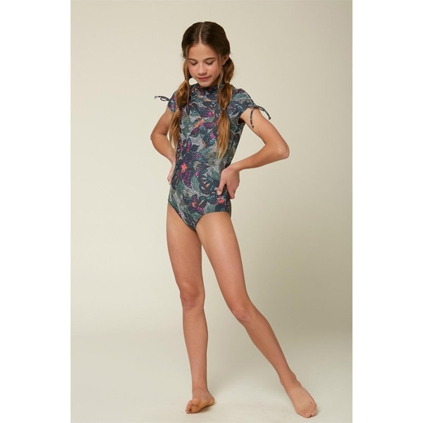 O'Neill O'Neill Girls Sandrine Short Sleeve Surf Suit
