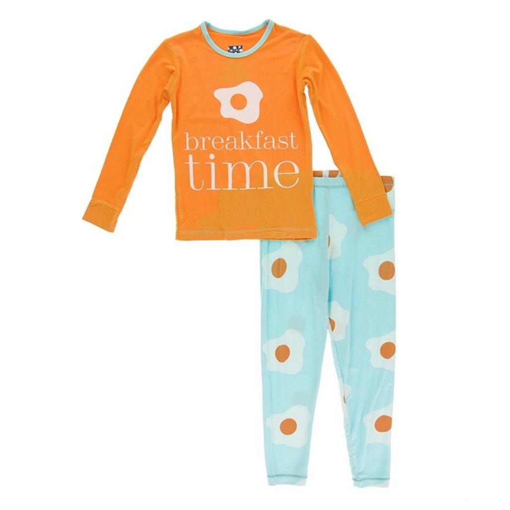 KicKee Pants KicKee Pants Baby Long Sleeve Pajama Set