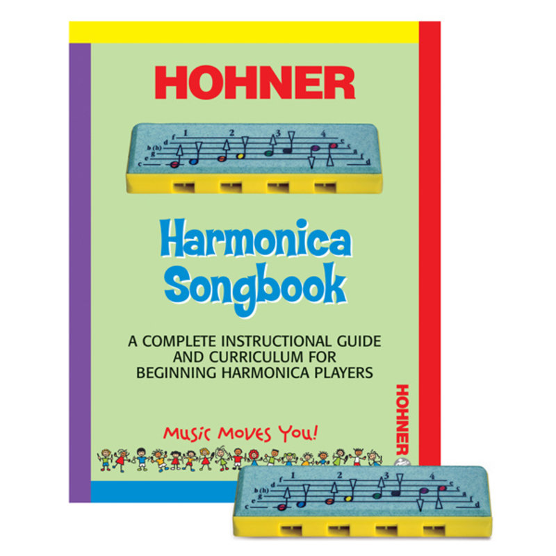 Hohner Kids Harmonica & Playbook