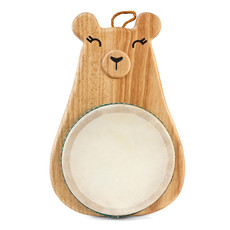Hohner Kids Green Tones Mama Bear Drum with Mallet