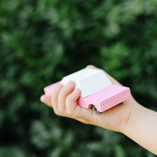 Candylab Toys Candylab Toys Pink Sedan Candycar