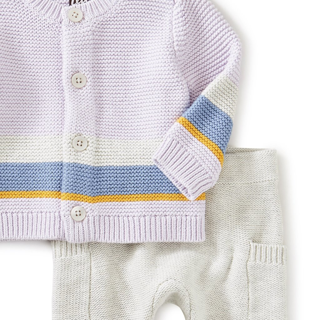 Tea Collection Tea Collection Baby Sweater Set - Size: 3-6 Months