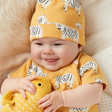Tea Collection Tea Collection Baby Hat Two-Pack - Size: 6-9 Months