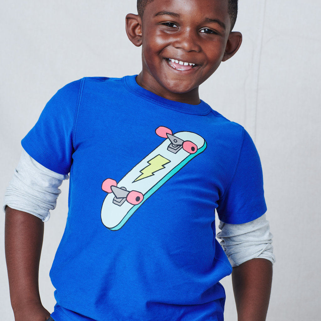 Tea Collection Tea Collection Boys Flip Trick Layered Tee
