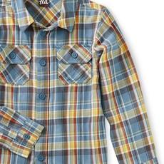 Tea Collection Tea Collection Boys Plaid Button-Up