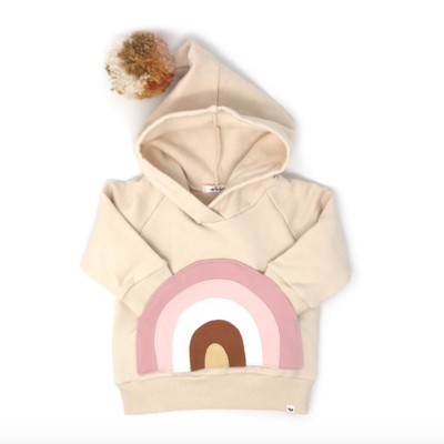 Oh Baby Rainbow Hooded Sweatshirt