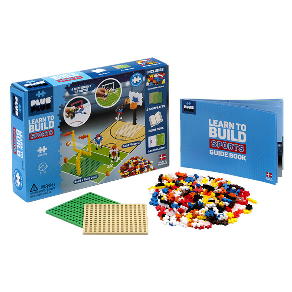 Plus-Plus USA Plus Plus Learn to Build Sets