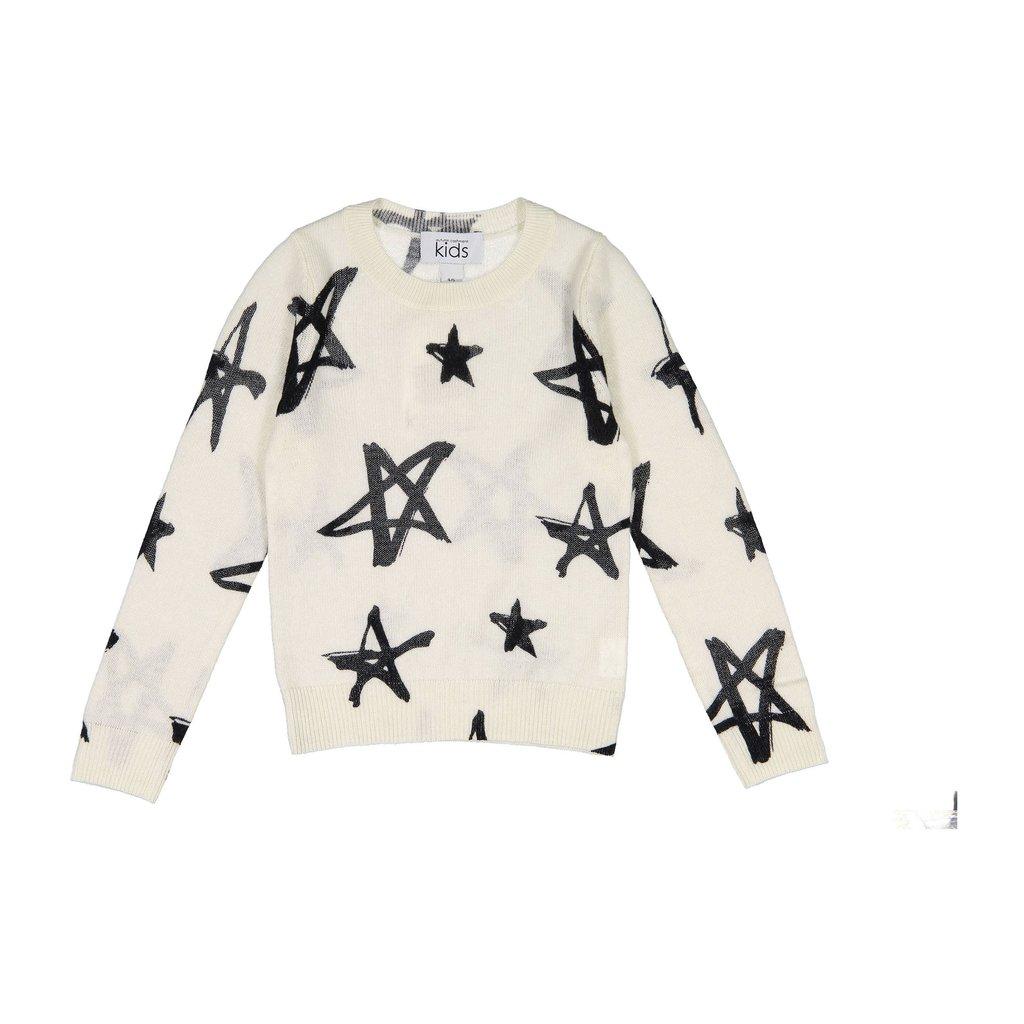 Autumn Cashmere Star Crew Sweater