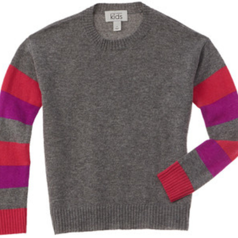 Autumn Cashmere Striped Crew