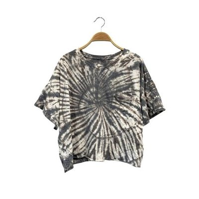 Studio Ko Clothing Studio Ko Oversized Tie Dye Crop