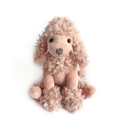 Mon Ami Mon Ami 'Paris' Mauve Poodle Plush