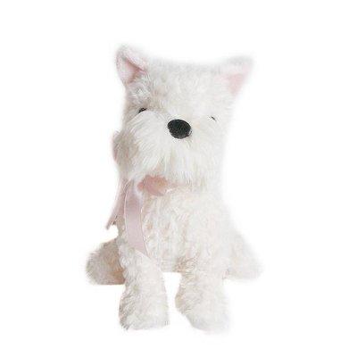 Mon Ami Mon Ami 'Wes' Cream Westie Dog Plush