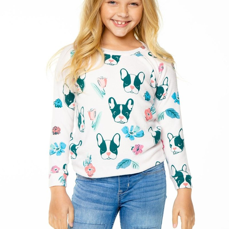 Chaser Kids Chaser Girls Love Raglan PO