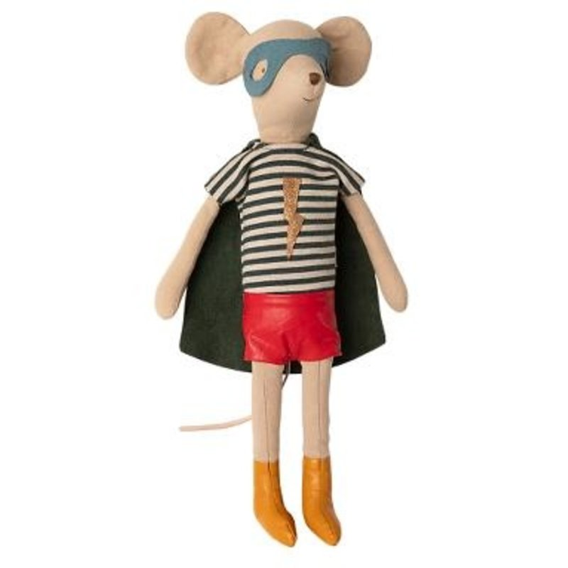 Maileg Maileg Super Hero Mouse - Boy