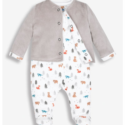 JoJo Maman Bebe JoJo Maman Bebe Sleepsuit Set