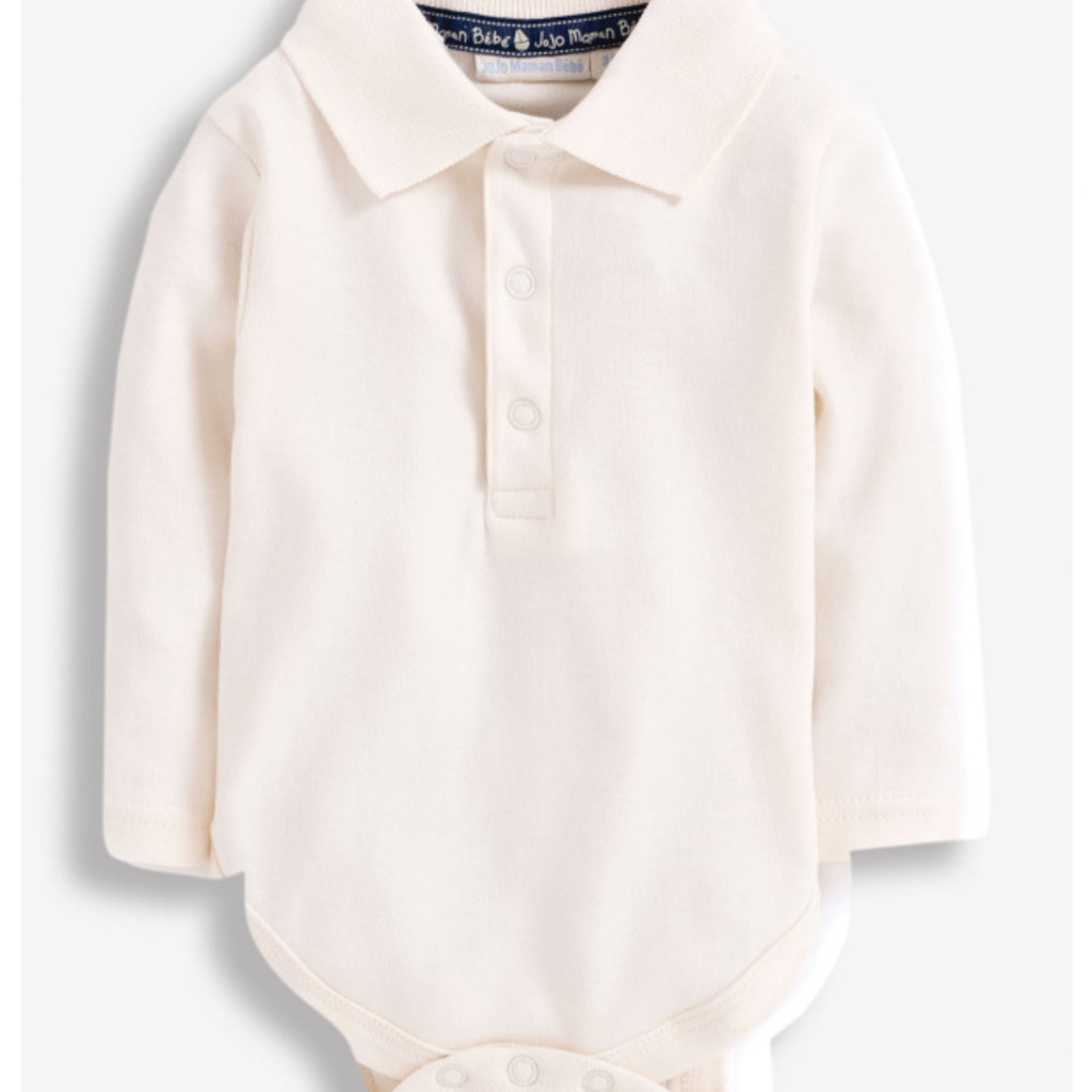JoJo Maman Bebe JoJo Maman Bebe LS Polo Shirt Bodysuit