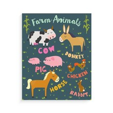 Lucy Darling Lucy Darling Art Prints - Farm Animals