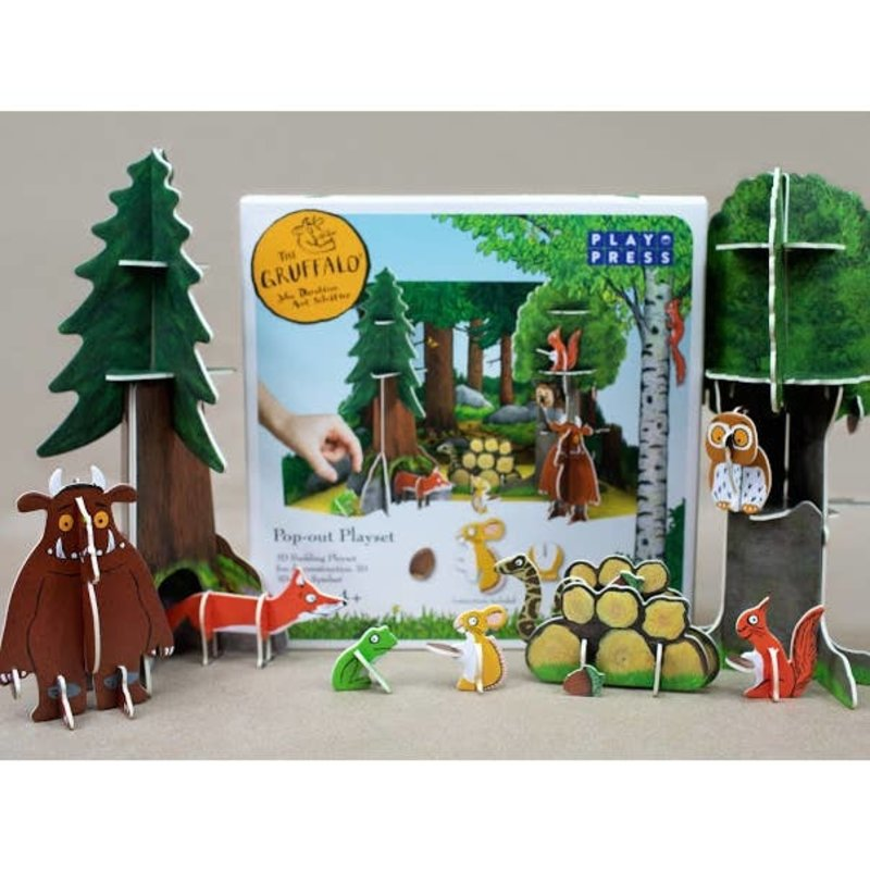 Little Poland Gruffalo Pop-out Play Set