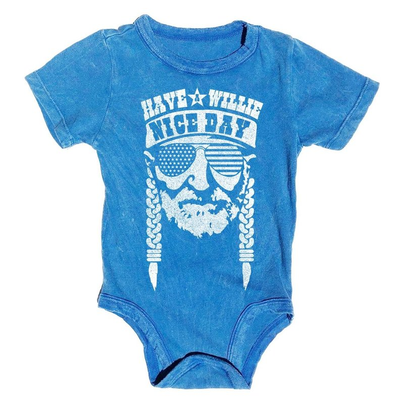 Rowdy Sprout Rowdy Sprouts Willie Nice Day Onesie