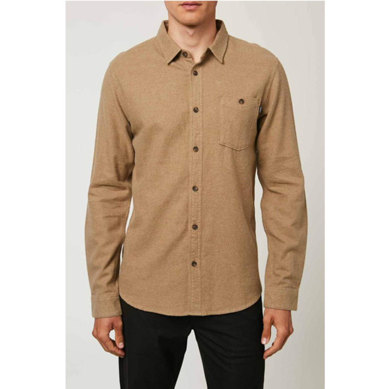O'Neill O'Neill Mens Redmond Solid Flannel