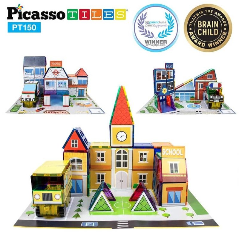Picasso Tiles Picasso Tiles School Theme Set