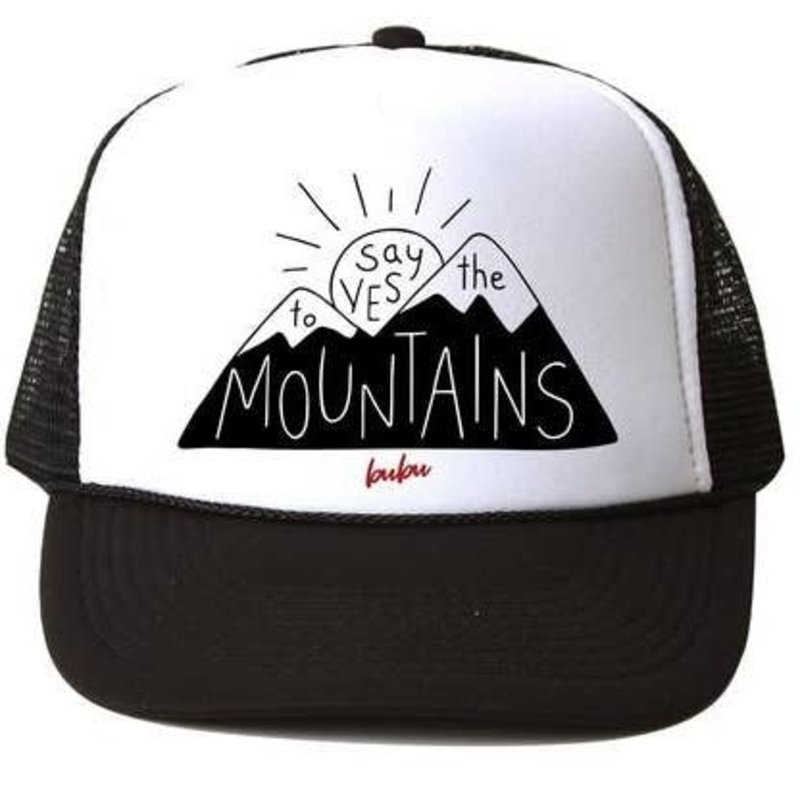 Bubu Yes To The Mountains Trucker Hat