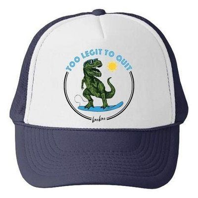 Bubu Too Legit To Quit Trucker Hat