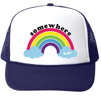 Bubu Over the Rainbow Trucker Hat