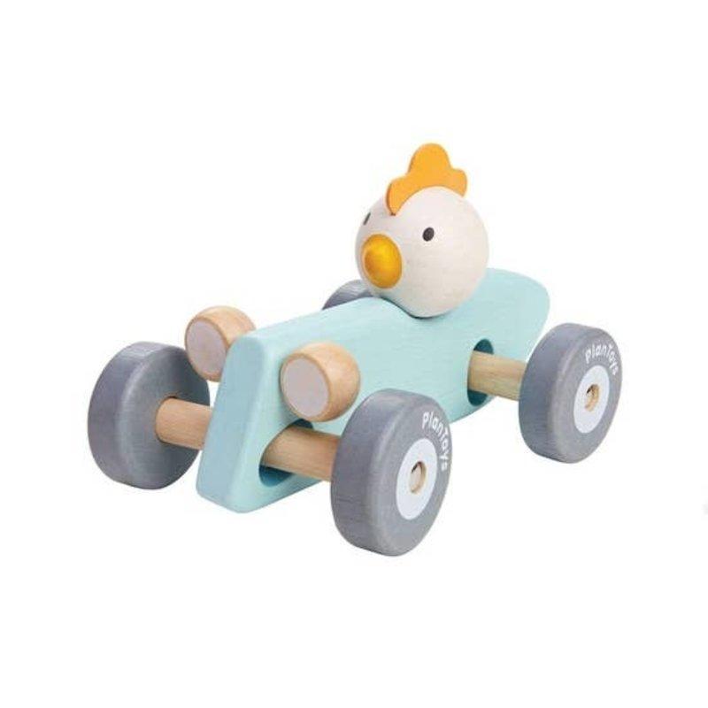 Plan Toys Chicken Racing Car