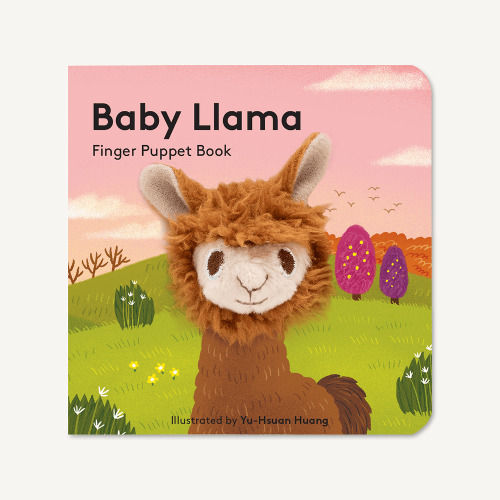 Chronicle Books Baby Llama: Finger Puppet Book