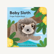 Chronicle Books Baby Sloth: Finger Puppet Book