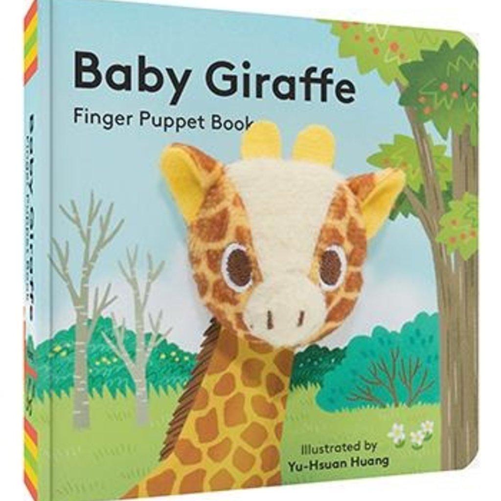 Chronicle Books Baby Giraffe: Finger Puppet Book