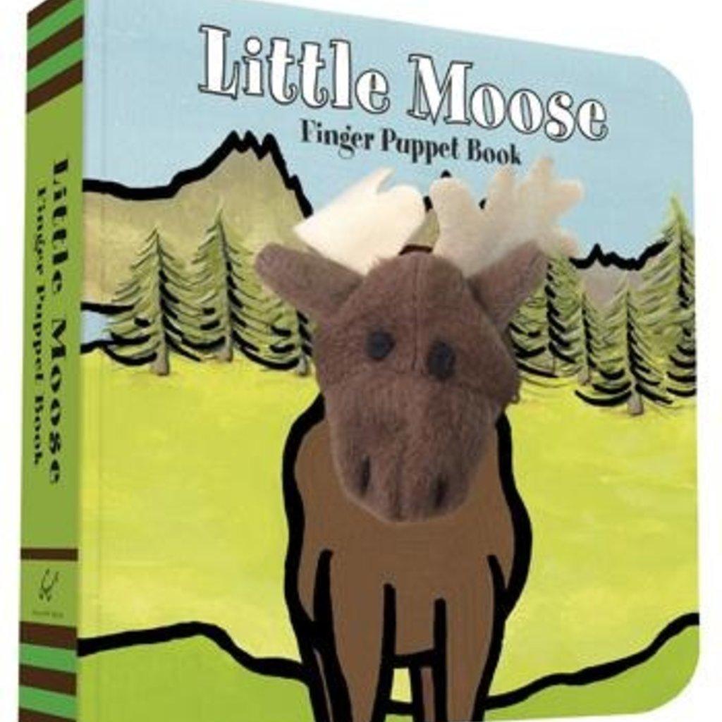 Chronicle Books Little Moose: Finger Puppet Book