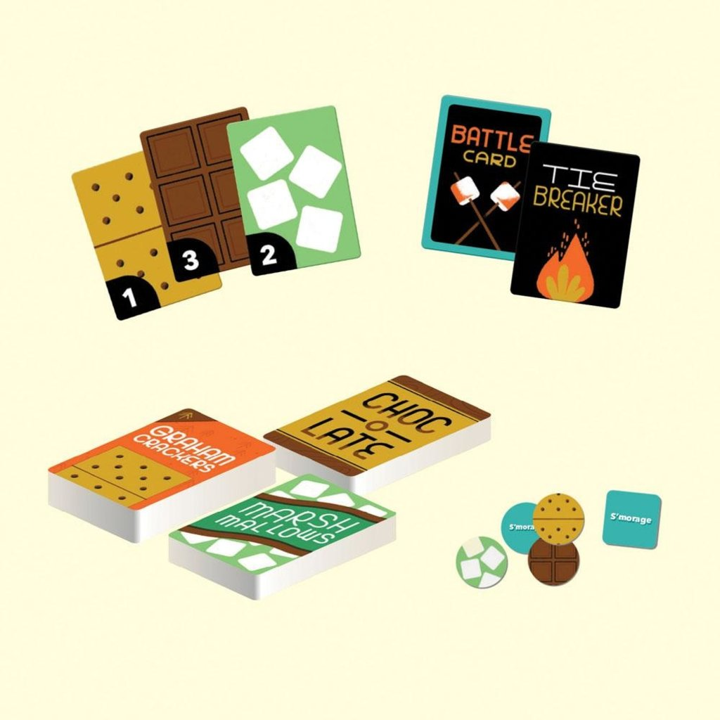 Chronicle Books S'mores Wars Card Game