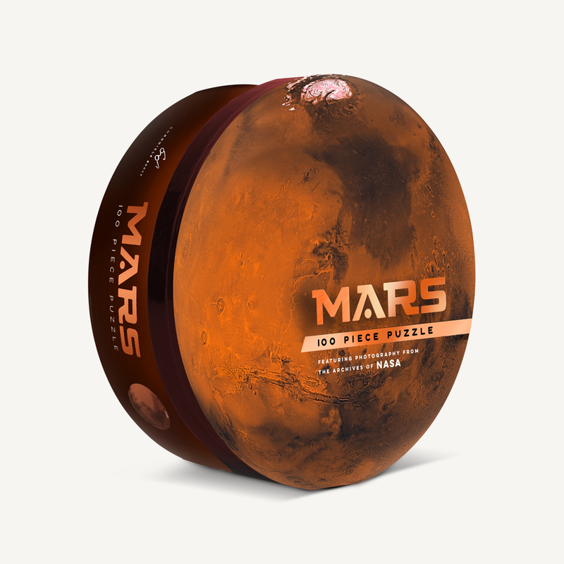 Chronicle Books Mars Puzzle
