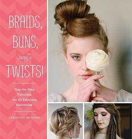 Chronicle Books Braids, Buns, and Twists!