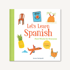 Chronicle Books Let's Learn Spanish Hardcover