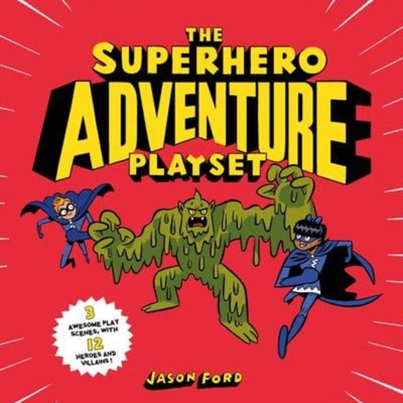 Chronicle Books Superhero Playset